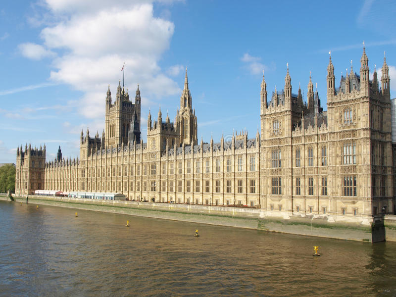 Download Houses of Parliament stock image. Image of united, vintage - 15040367