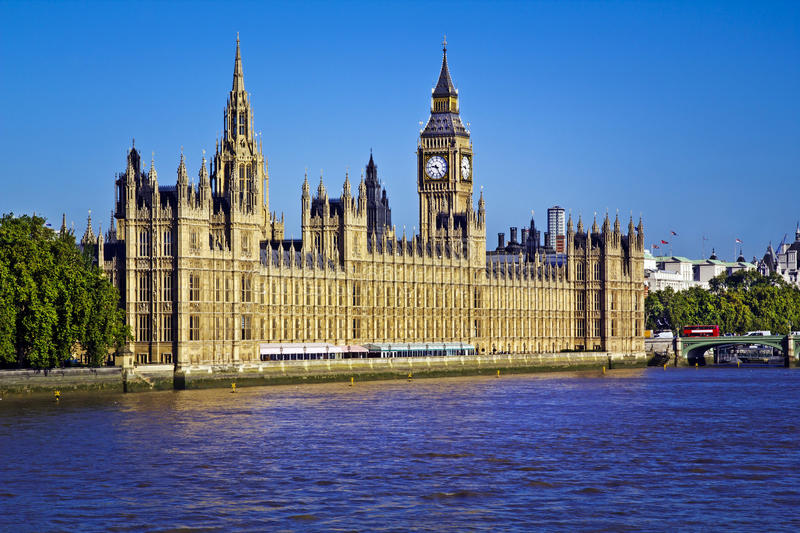 Download Houses of Parliament stock image. Image of place, built - 17510251