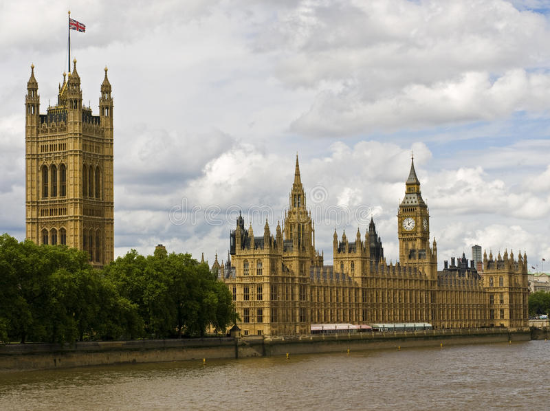 Houses Of Parliament Editorial Photo