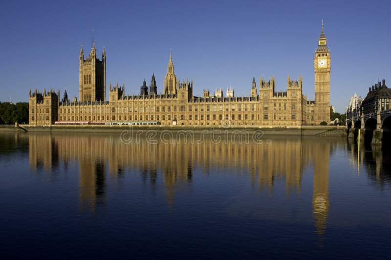Download Houses of parliament stock photo. Image of reflections - 198692
