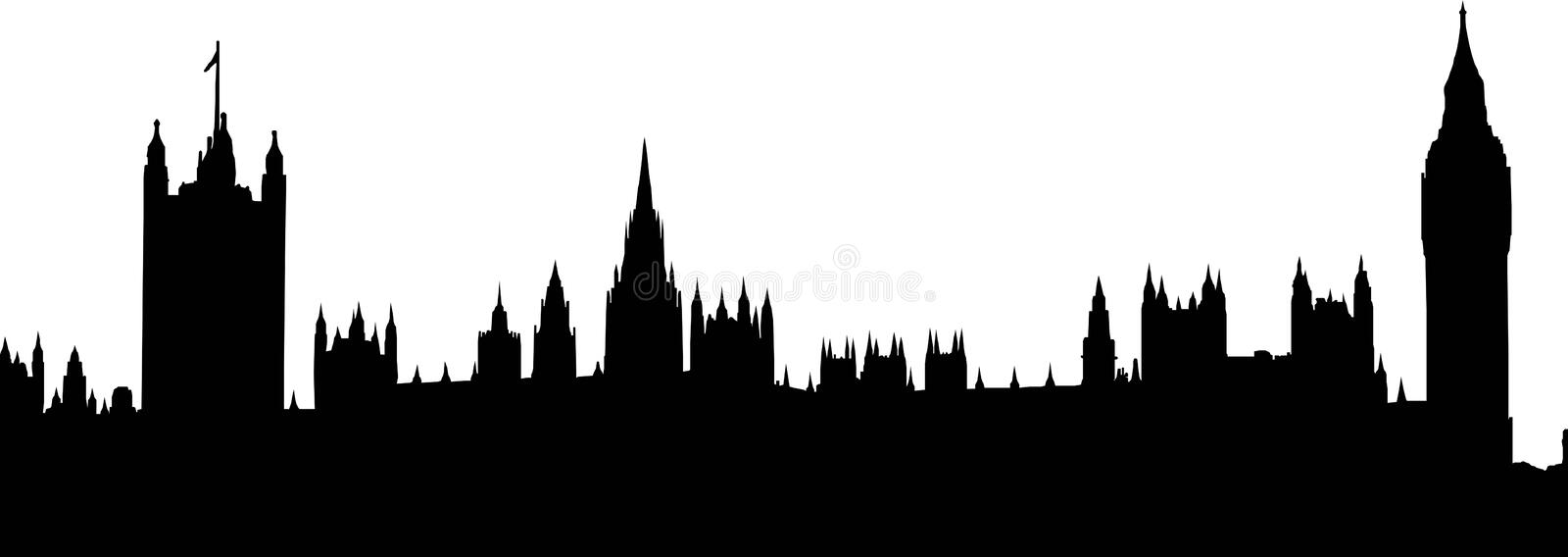Download Houses of Parliament stock illustration. Illustration of illlustration - 8174069