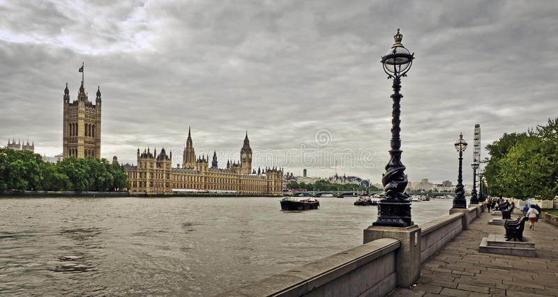 Houses of Parliament, London. Houses of Parliament and Big Ben, London royalty free stock image