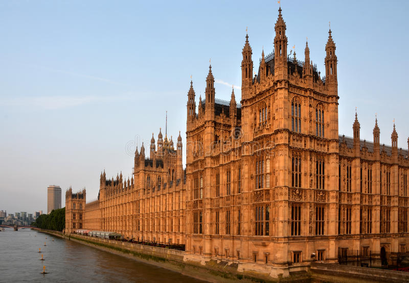 Download Houses Of Parliament From Westminster Bridge Early Morning Lands Stock Photo - Image: 32631020