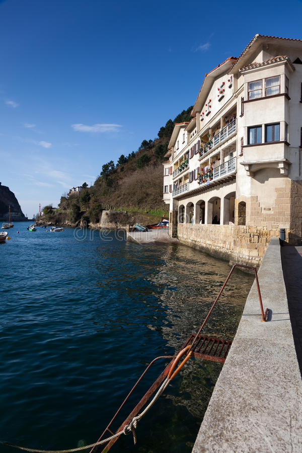 Download Houses of Pasaia stock photo. Image of spain, building - 18743258