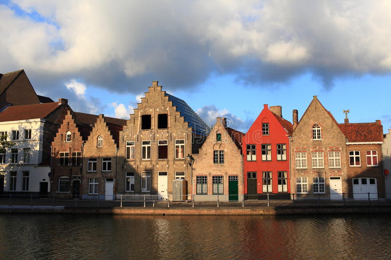 Download Houses At The Riverside, Bruges Stock Image - Image: 16471107