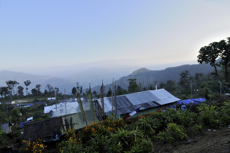 Download Houses Of Silerygaon Village, Sikkim Royalty Free Stock Photography - Image: 34335327
