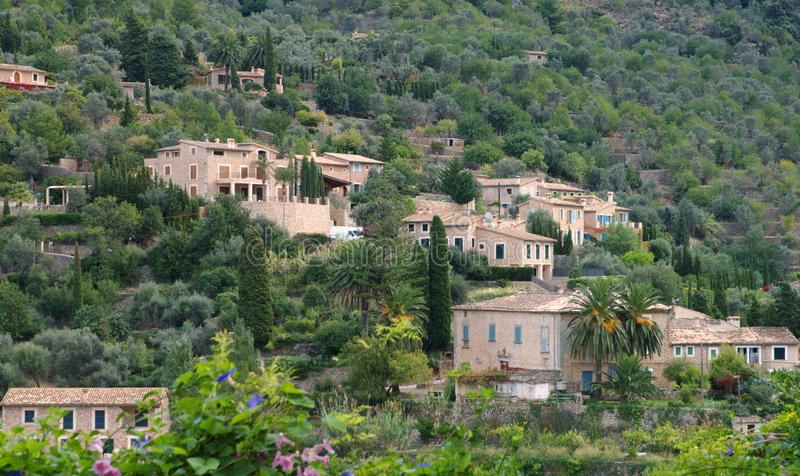 Download Houses Spain stock image. Image of mallorca, overlooking - 16759307