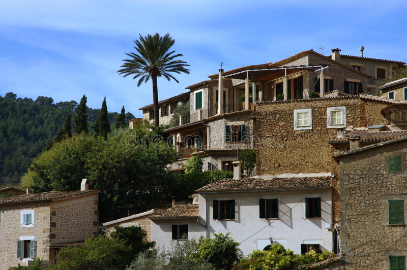 Houses Spain Royalty Free Stock Photo