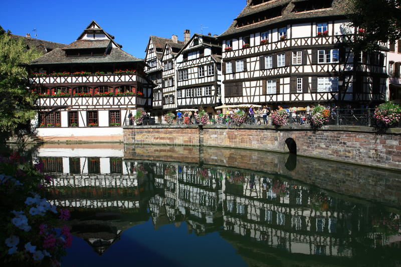 Houses In Strasbourg Petite France Editorial Stock Image