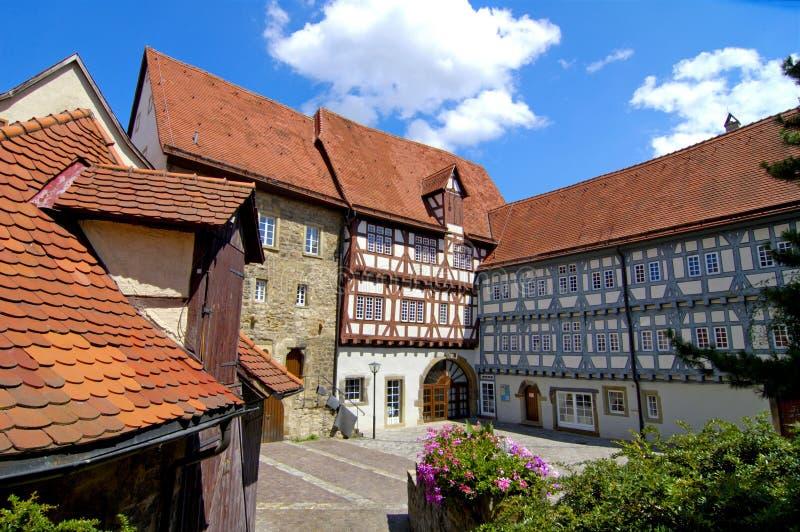 houses traditionellt royaltyfri fotografi