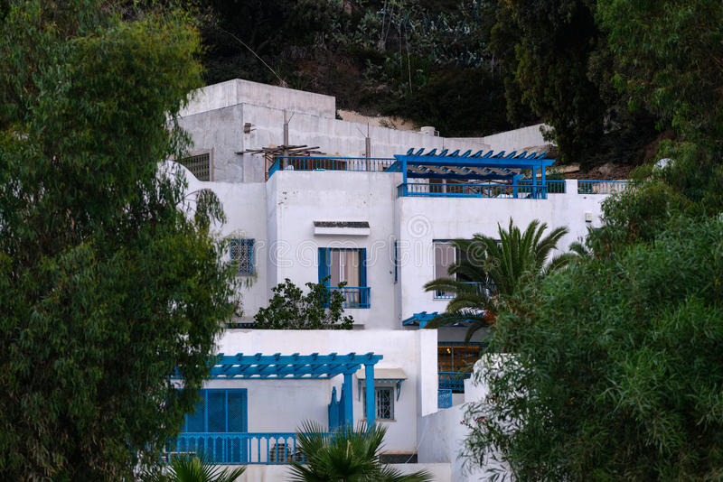 Houses in Tunisia stock images