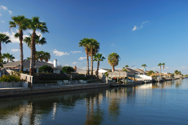 Download Houses waterside stock image. Image of real, southern - 4145107