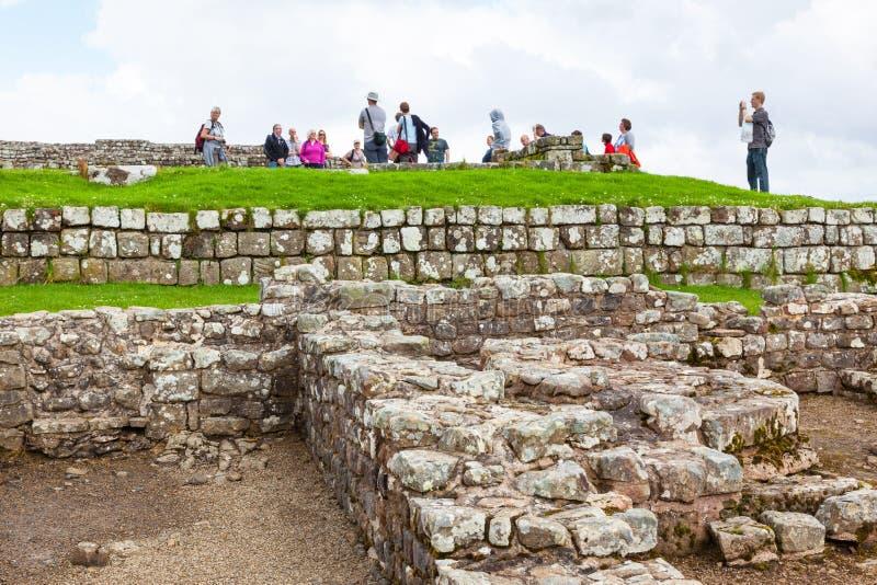 Housesteads römisches Fort lizenzfreie stockfotografie
