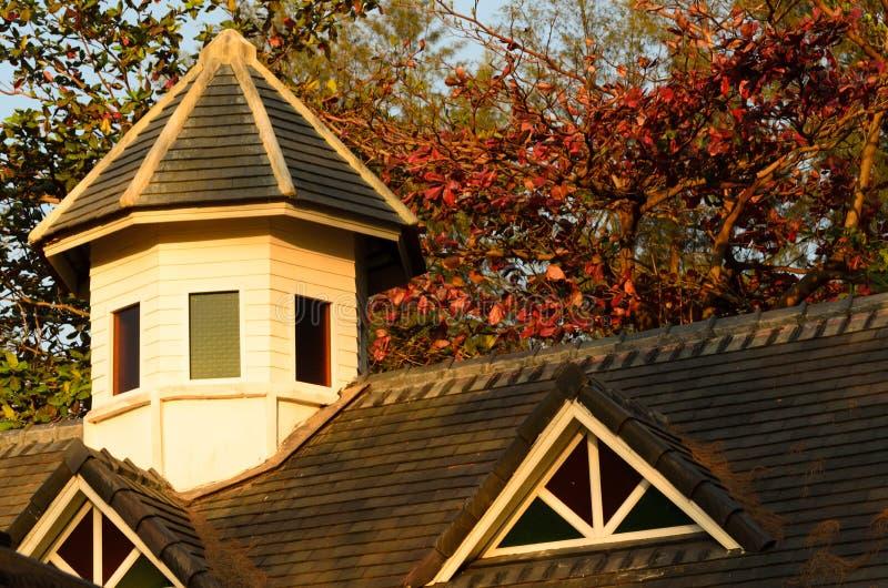 housetop стоковое фото rf