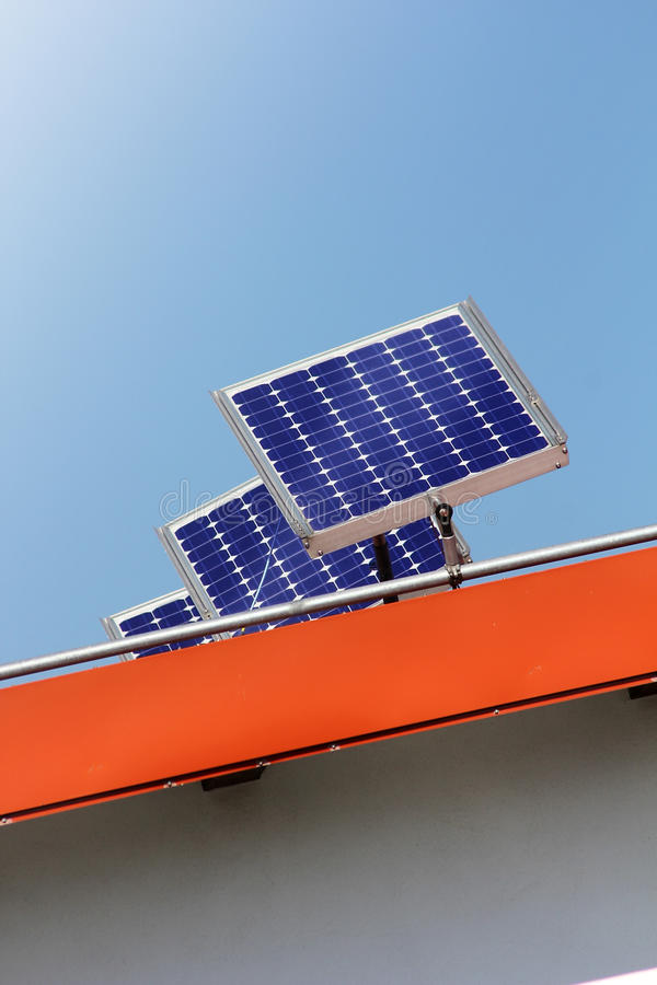 Download Housetop with solar stock photo. Image of blue, engine - 21523658