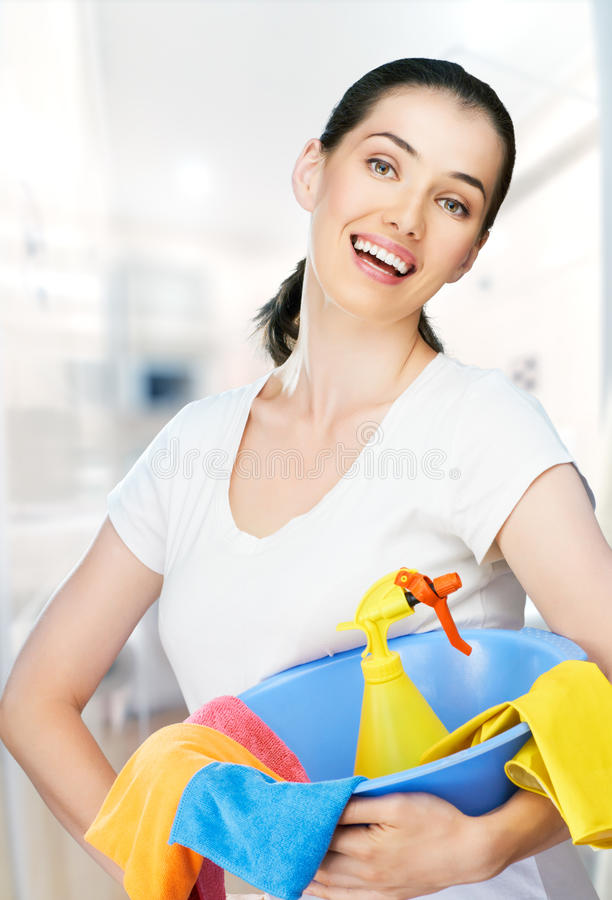 Download Housewife stock photo. Image of domestic, worker, clean - 25714118