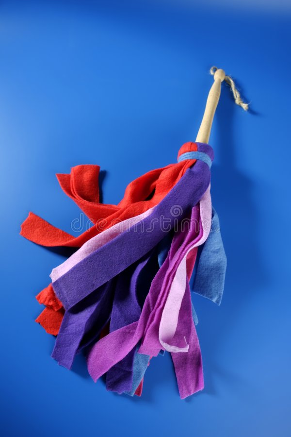 Housewife Colorful Duster Cleaning Tools Stock Photography