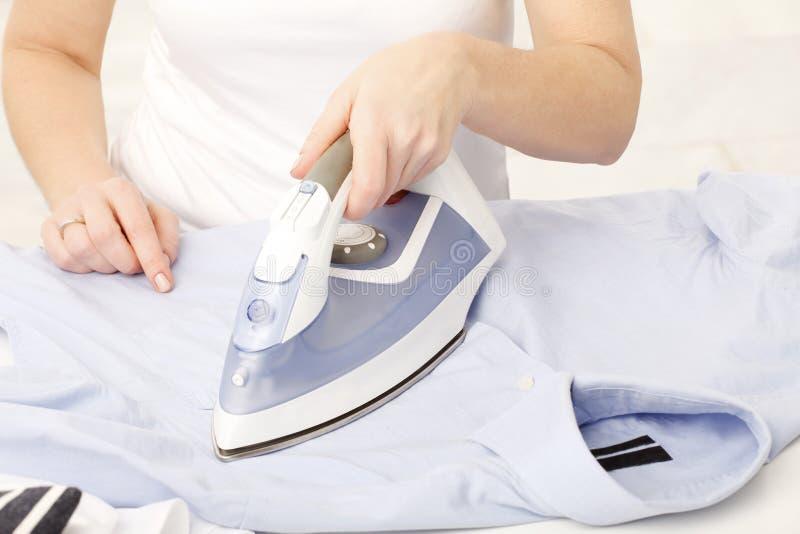 Housewife working stock image