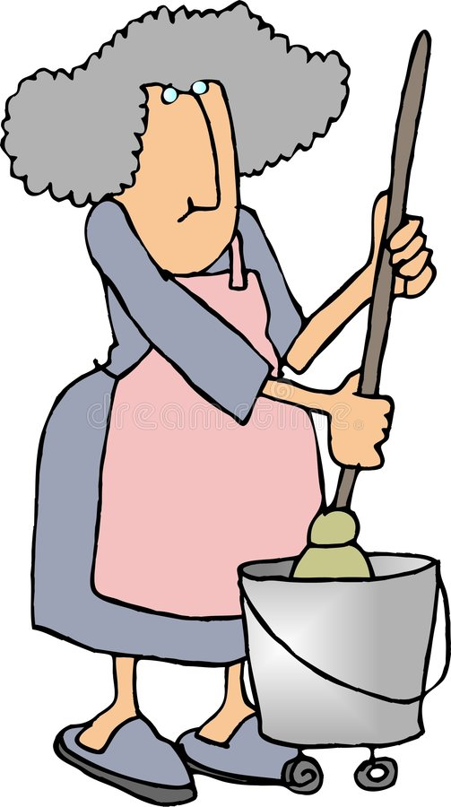 housework2 royalty ilustracja