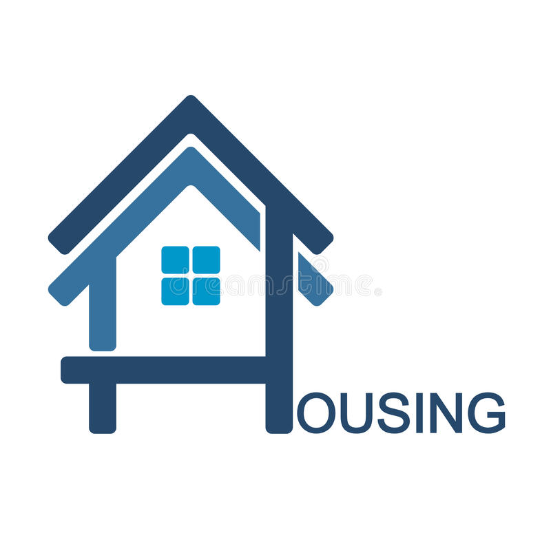 Housing design symbol vector illustration