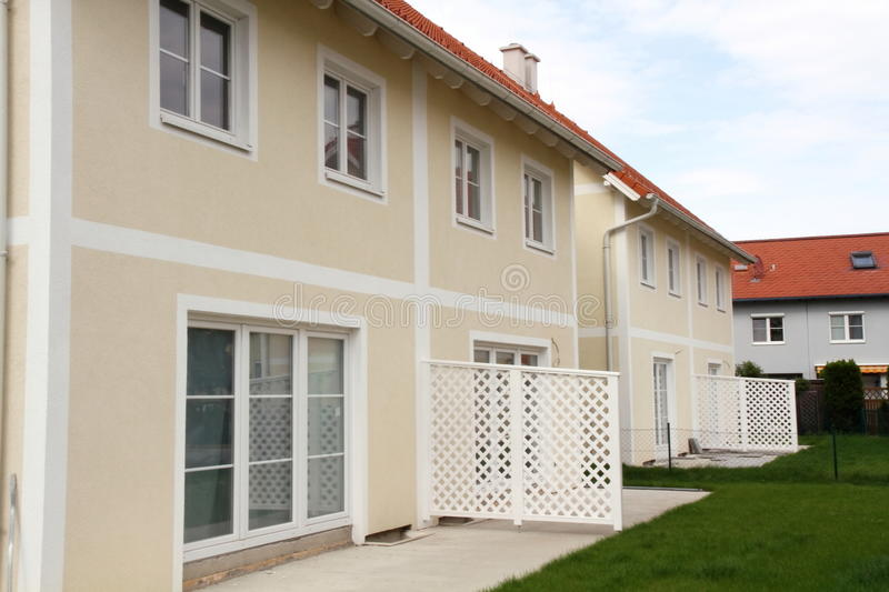 Download Housing development stock photo. Image of terrace, site - 18250592