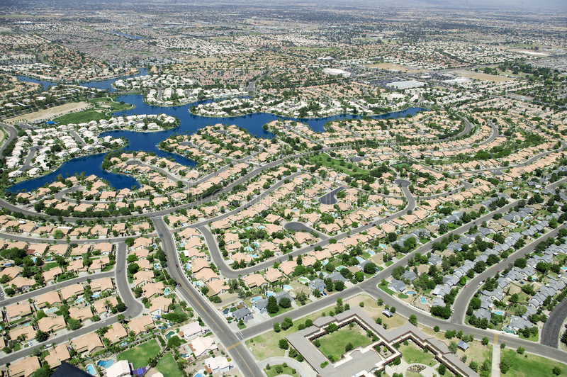 Download Housing Development stock photo. Image of houses, helicopter - 9331760