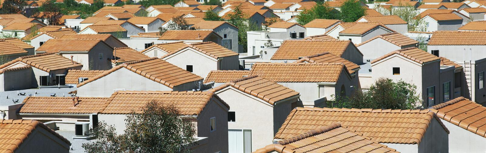 Housing development in a Southern California stock photos