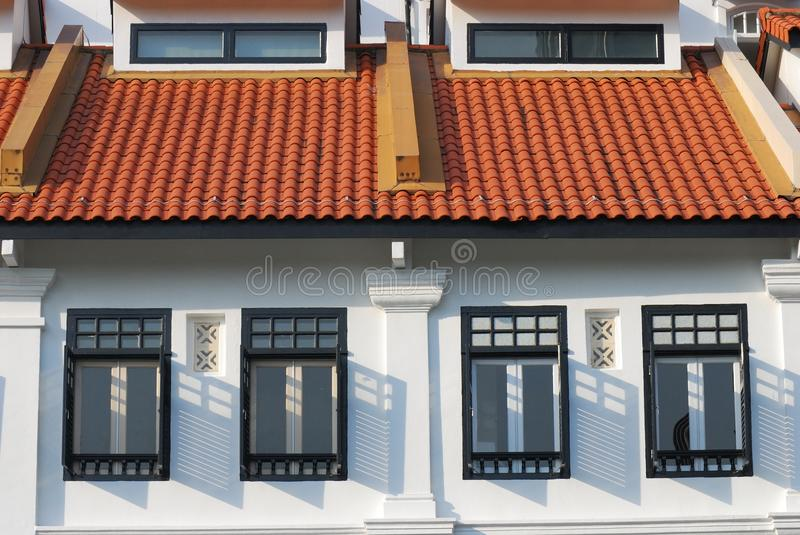 Housing Estate. A photo taken on some private property housing estate royalty free stock photography