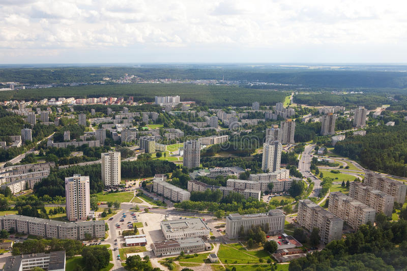 Download Housing estates in Vilnius stock photo. Image of square - 14288294