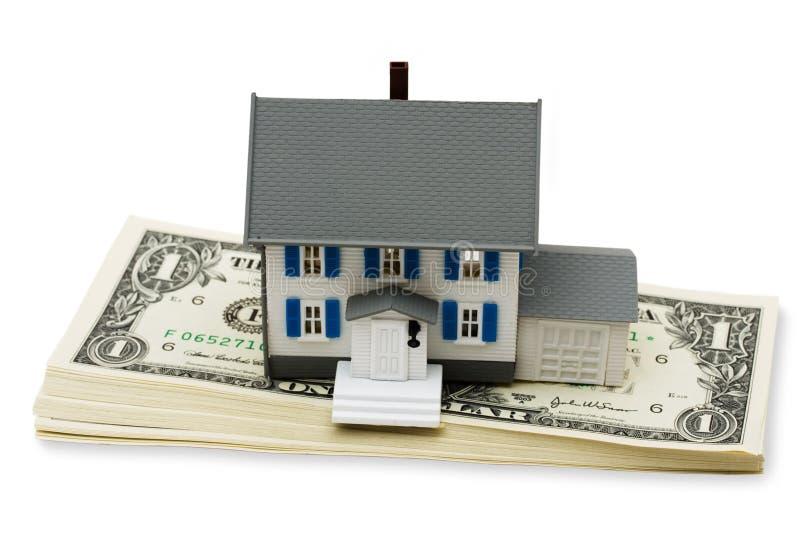 housing för kostnader royaltyfri bild