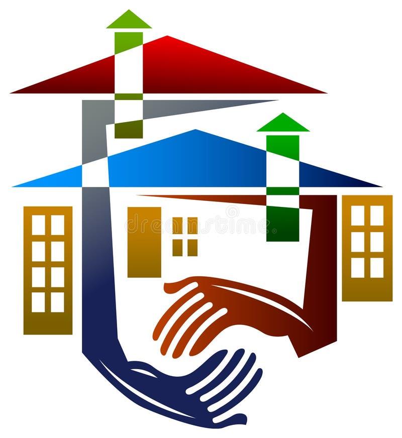 Housing help royalty free illustration