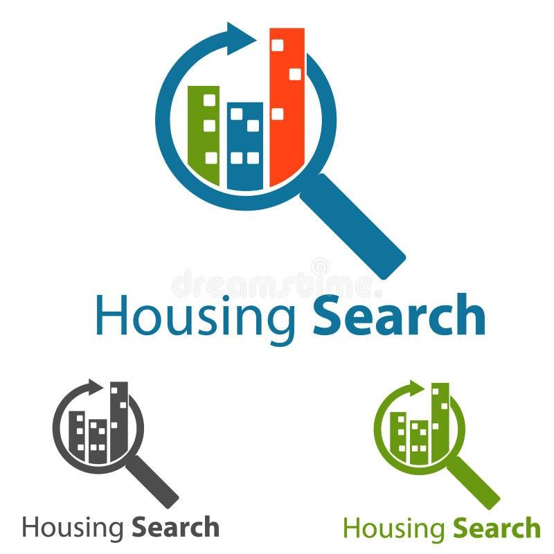 Concept Logo. Housing logo concept,symbol illustration stock illustration