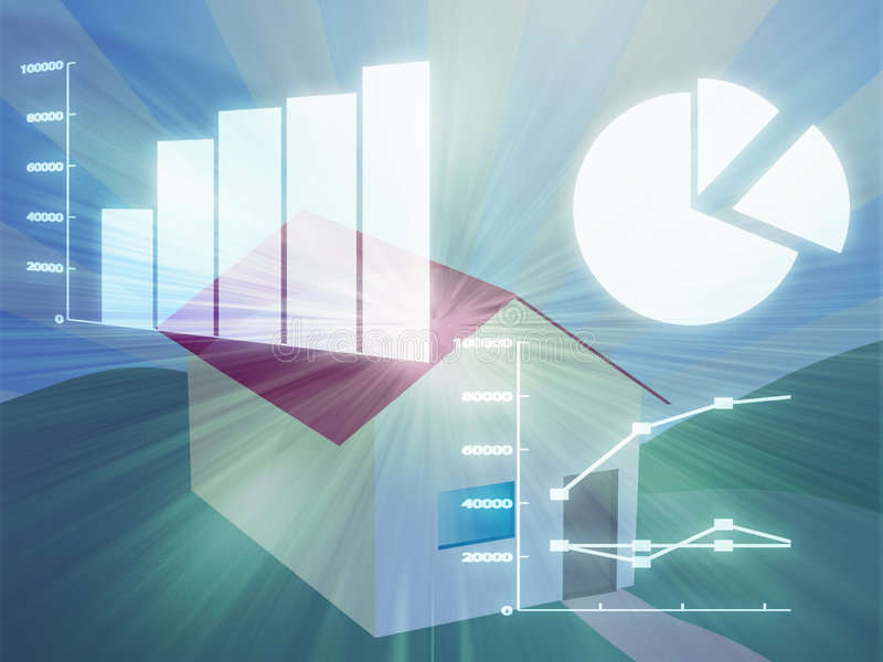 Download Housing market analysis stock illustration. Illustration of accounting - 6770414