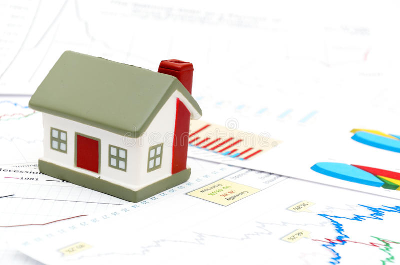 Housing market concept royalty free stock image