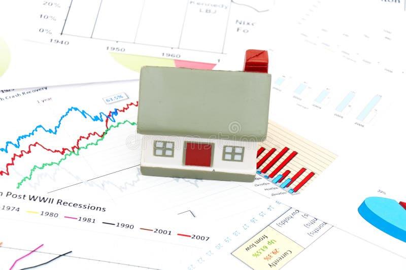 Housing market concept royalty free stock photo
