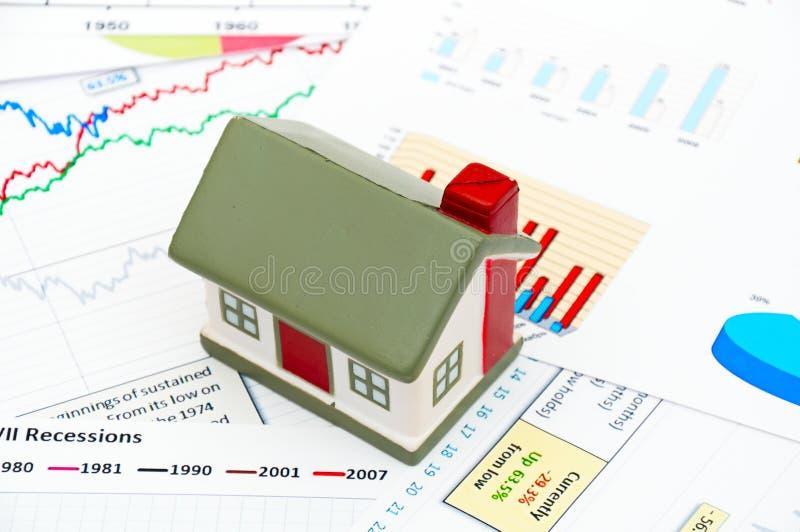 Housing market concept stock photography