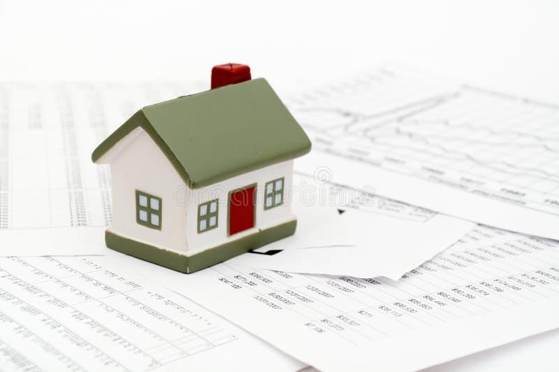 Housing market concept image royalty free stock photo