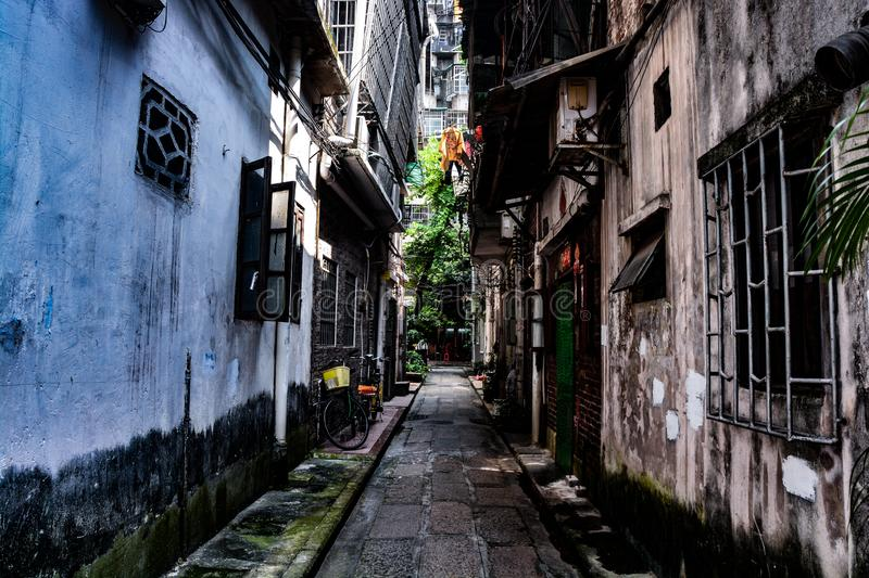 Housing In Old Town In Liwan District, Guangzhou