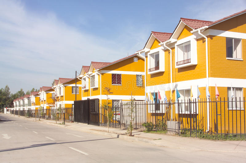 Housing projects stock photo