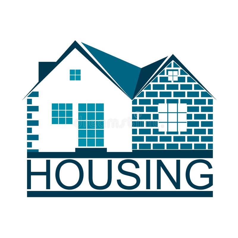Housing Symbol For Business Stock Vector Illustration Of