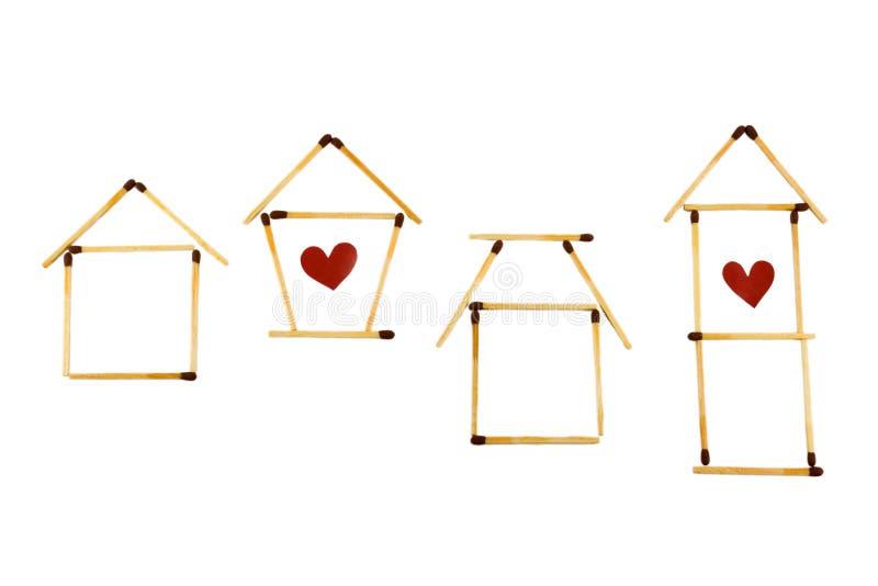 Housing symbols royalty free stock photos