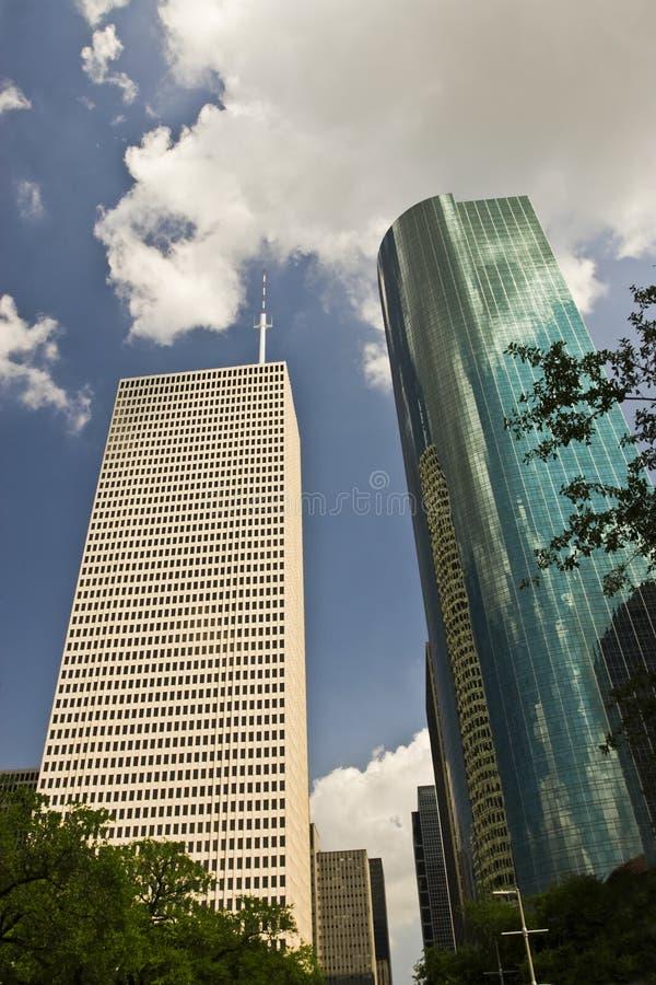 Houston 2 drapacza chmur zdjęcie royalty free