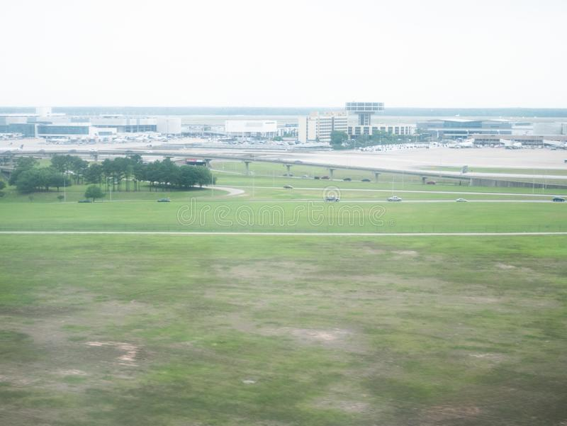 Houston Airport royalty-vrije stock afbeeldingen
