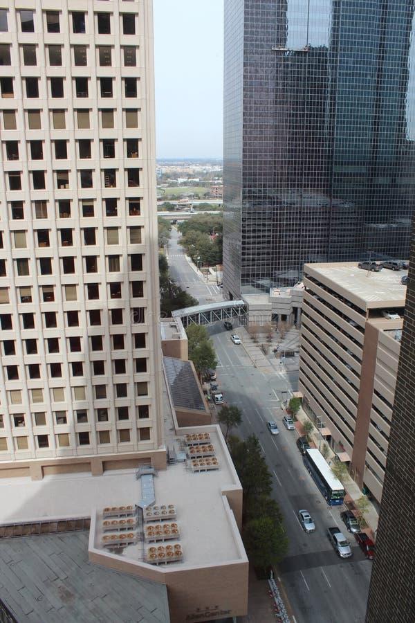Houston Buildings imagem de stock