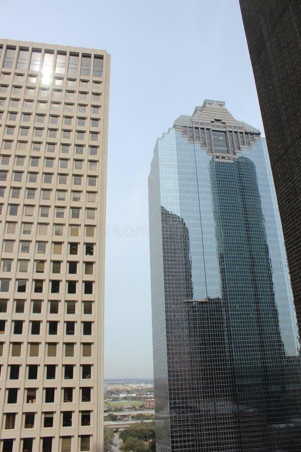 Houston Buildings imagens de stock royalty free