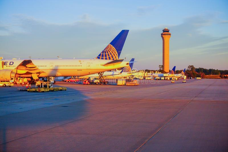Houston Bush Airport photographie stock libre de droits