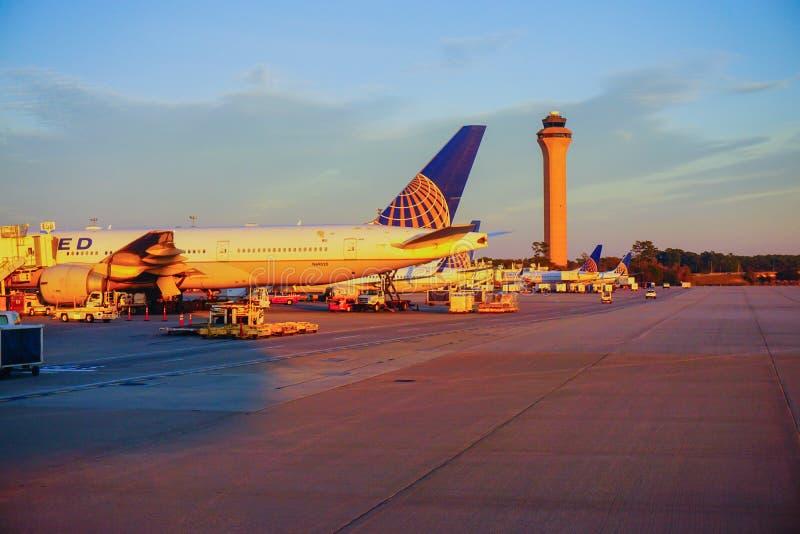 Houston Bush Airport photo stock