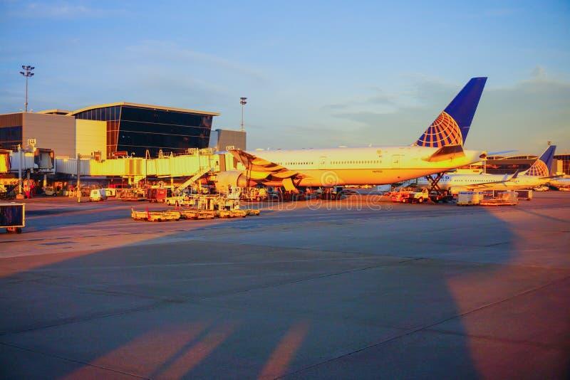 Houston Bush Airport photos libres de droits