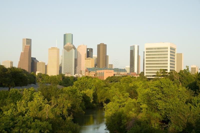 Houston céntrica fotos de archivo