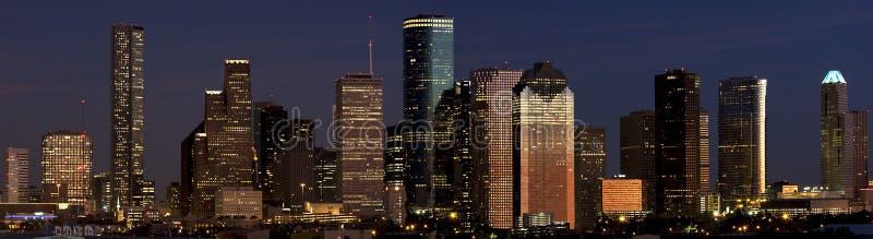 Houston céntrica fotos de archivo libres de regalías